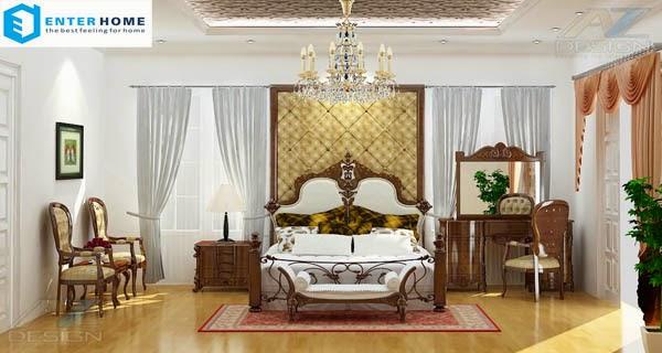 Thiết kế biệt thự cổ điển đẹp nhất ở hà nội với chi phí rẻ