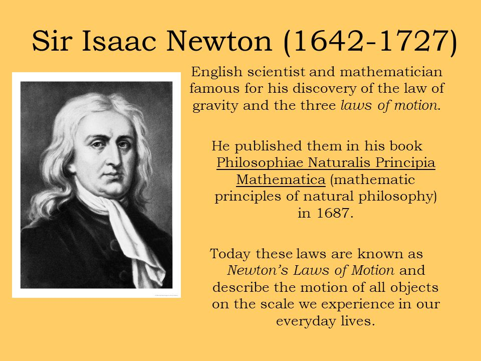 biography of sir isaac newton essay Sir isaac newton was an english mathematician and physicist, considered one of the greatest scientists in history he made important contributions to many fields of science.