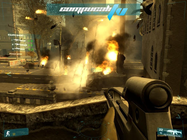 Ghost Recon Advanced Warfighter PC Full Español Descargar DVD5