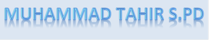 Muhammad Tahir  S.Pd