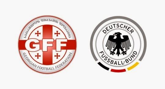 Georgien gegen Deutschland EM-Qualifikationsspiel