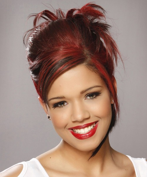 natural hairstyles buns : this is a great natural formal hairstyles Photo Gallery of hairstyle ...