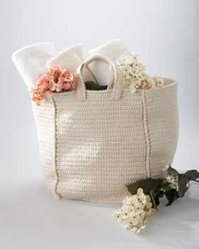 Crochet Tote Bag : knitnscribble.com: Knit and crochet tote bag patterns for summer