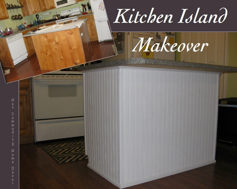 Hot Commodity Home Decor: Kitchen Island Makeover