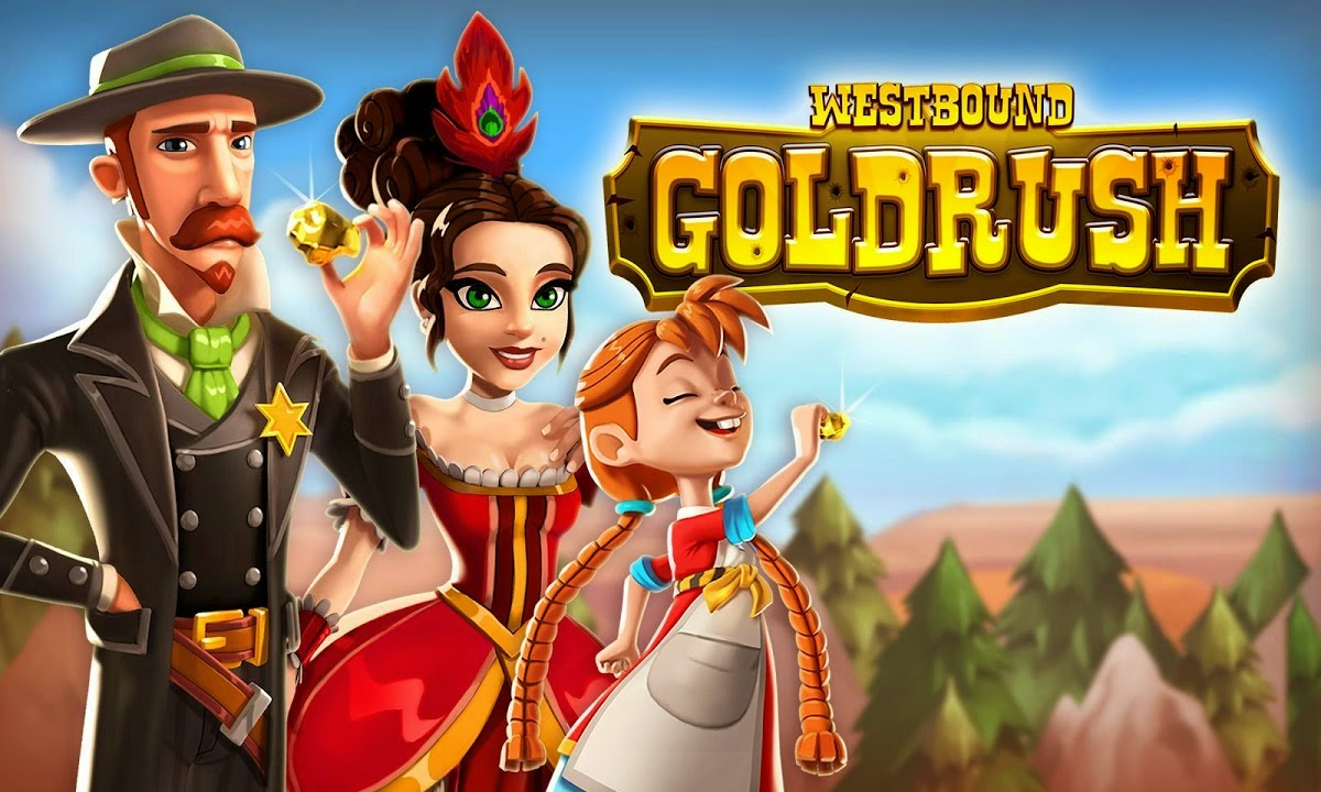 Westbound: Gold Rush Gameplay IOS / Android