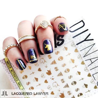 Unicorn Galaxy Nails