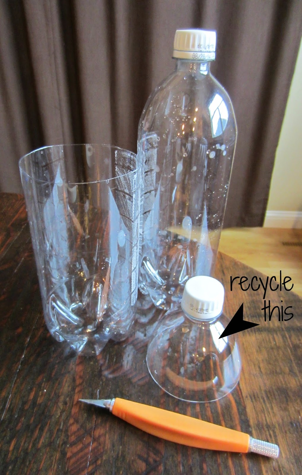 Relentlessly fun deceptively educational how to make a for Cut top off bottle