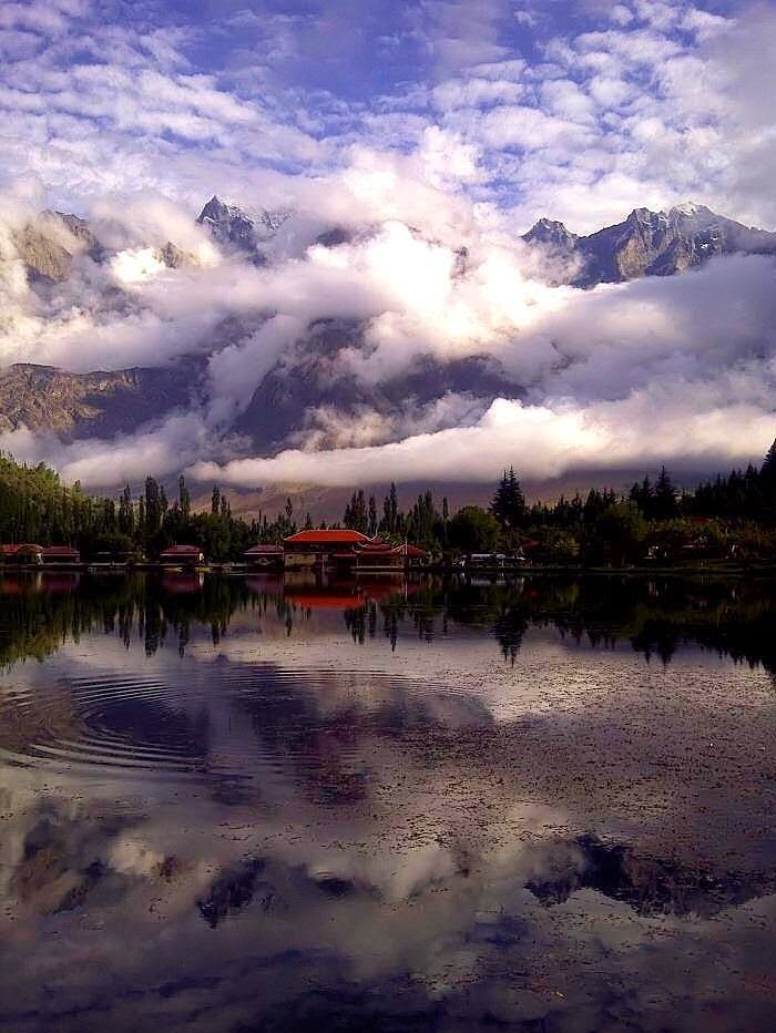 "Shangrila Lake ""Heaven on Earth"", Kachura Skardu, Pakistan."