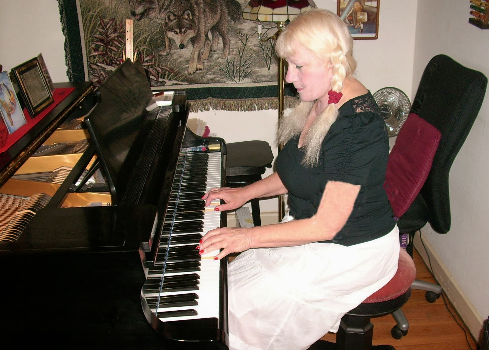Me and Buddy the piano