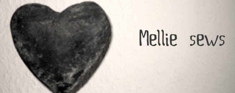 Mellie sews