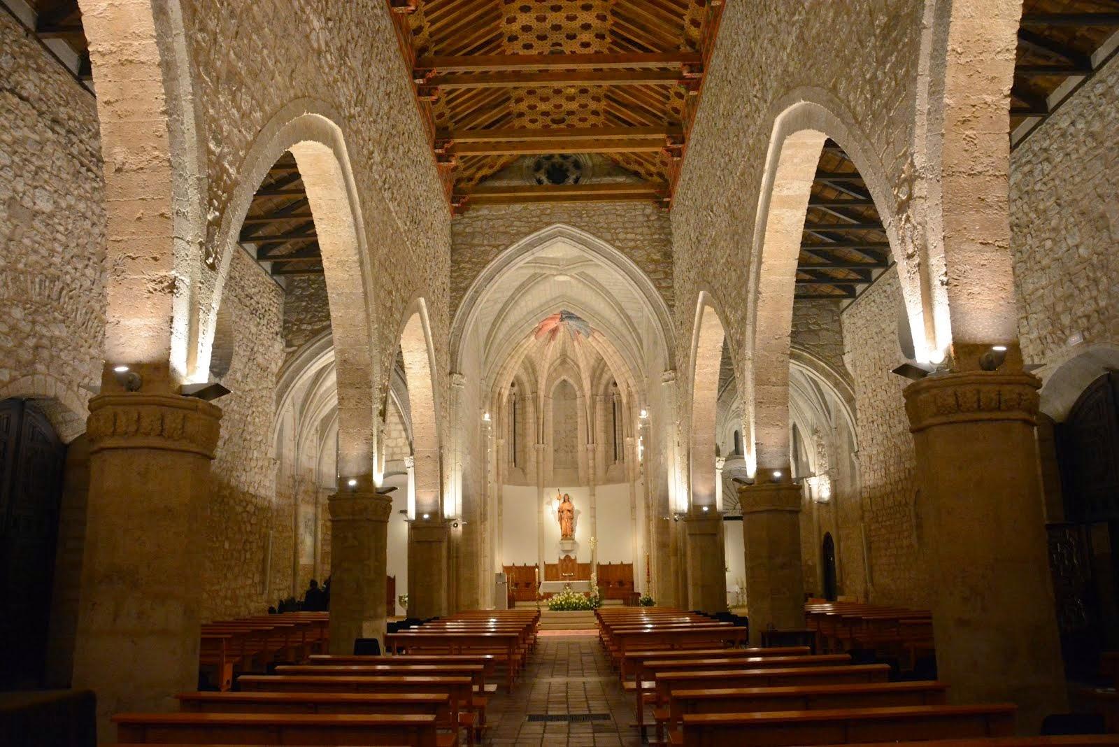 Iglesia de Santiago después de la Vigilia Pascual 2014