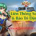 Sự kiện Liên Thông Server và Bảo Trì Định Kỳ trong game Eden 3D