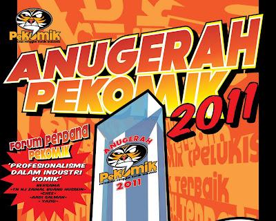 Kemuncak Anugerah PeKOMIK 2011.