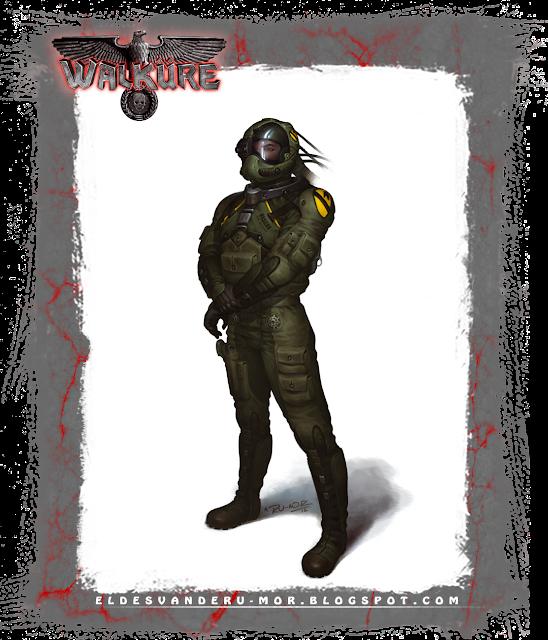 Ilustración juego rol Walküre La Marca del Este RU-MOR