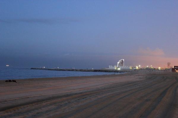 Barcelona Noc Plaża