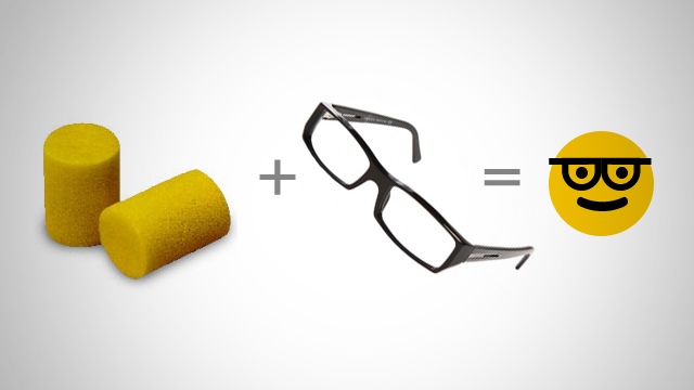 Foam Cover Glasses