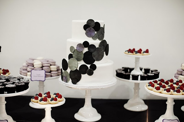 Wedding Desserts at the Walker Art Center
