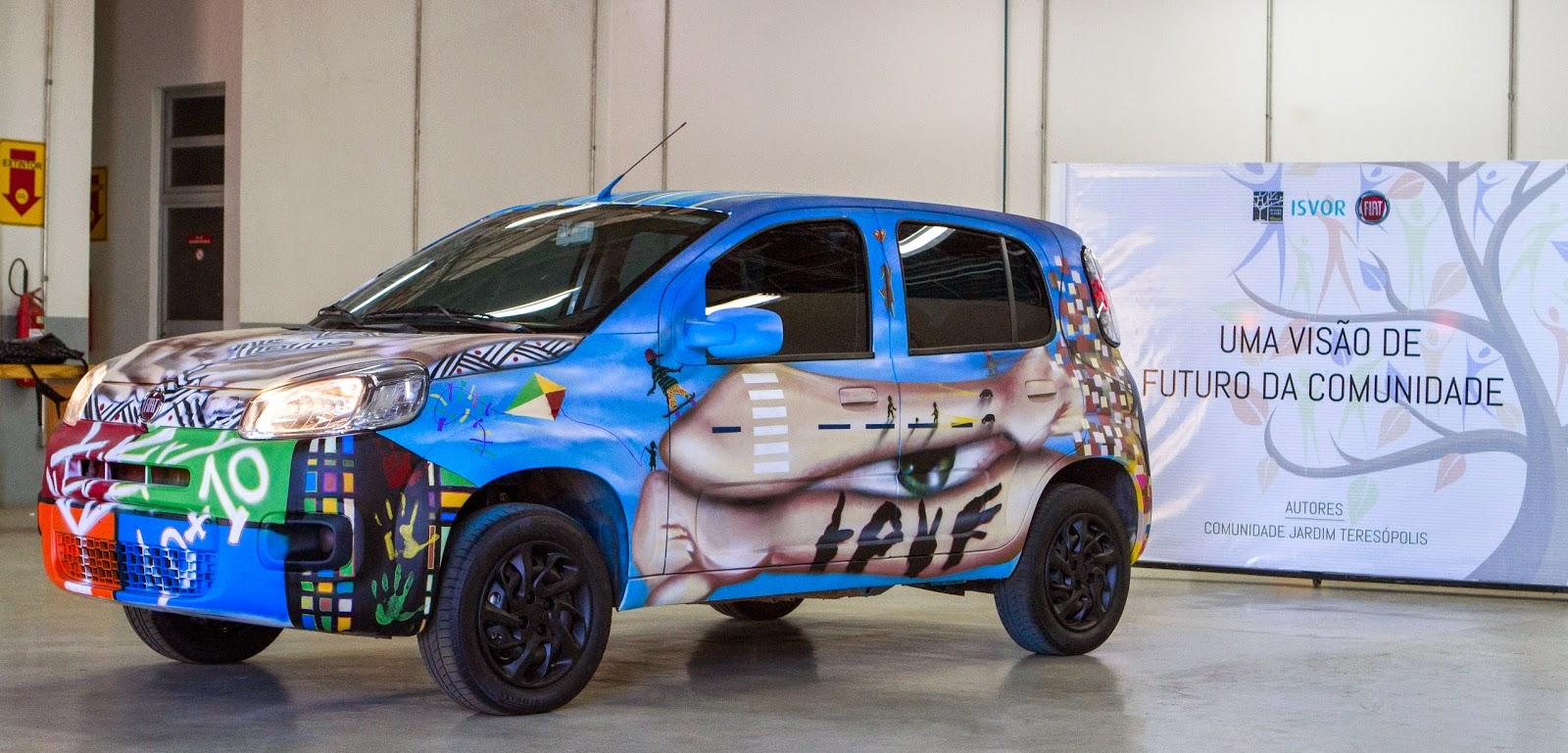 Fiat Uno 2015 Grafitado - Blog da Phenom Veiculos www.phenomveiculos.com