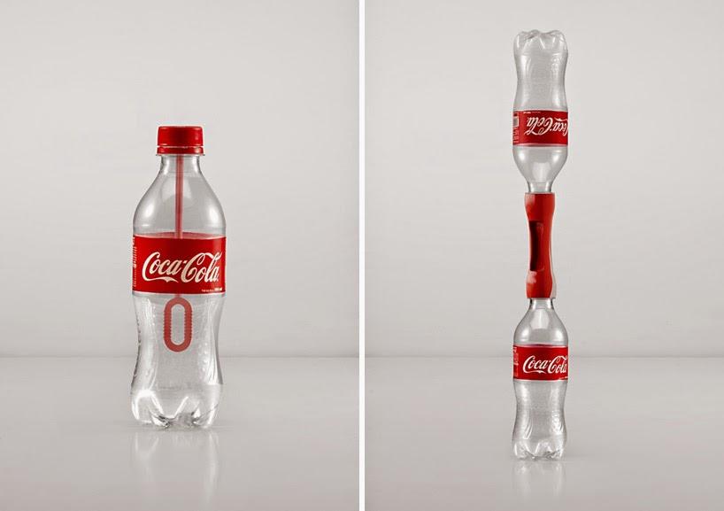 Campaña de Reciclaje y Reutilizacion de Botellas PET por Coca Cola