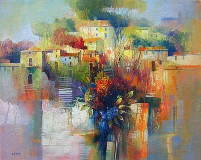 Il mondo di Mary Antony: Claudio Perina - paesaggistica