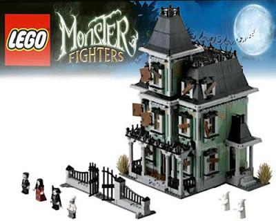 Amityville ghostly home thrilling trick or treat Halloween monster fighter Lego ghost model 10228