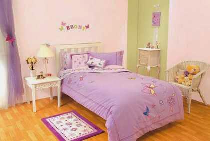 Gambar Interior Kamar Tidur Sederhana untuk Anak