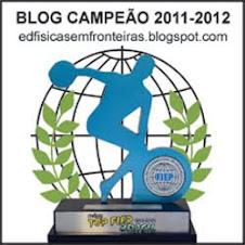 BLOG BI-CAMPEÃO DO PRÊMIO TOPFIEP 2011/2012