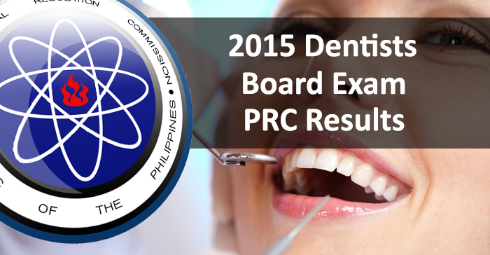 Top 10 Placers of June 2015 Dentists (Practical) Board Exam
