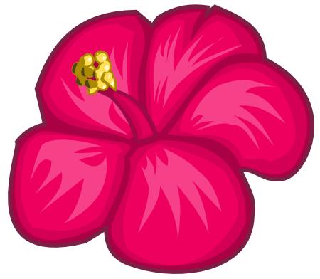 Ilustrasi bunga dengan Inkscape