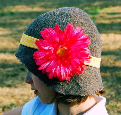 tutorial sombrero cloche para niña