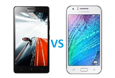 Samsung Galaxy J2 vs Lenovo A6000 Plus