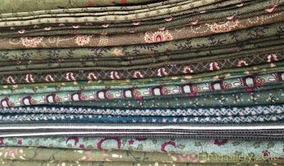 Kim Diehl - Green fabrics