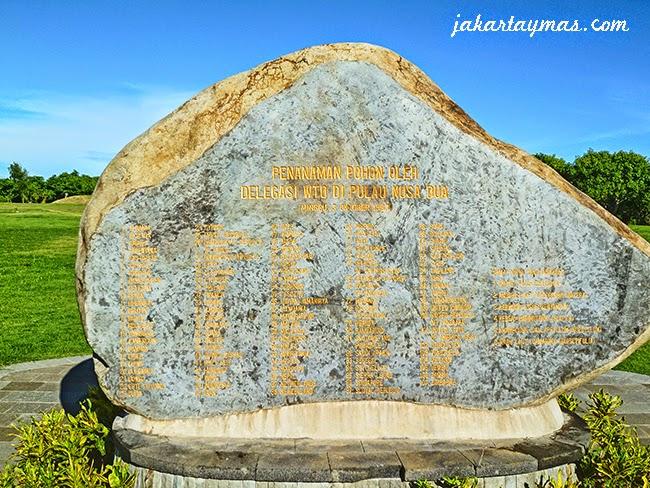Monumento en Nusa Dua