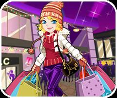 Shopping mùa giáng sinh, game ban gai