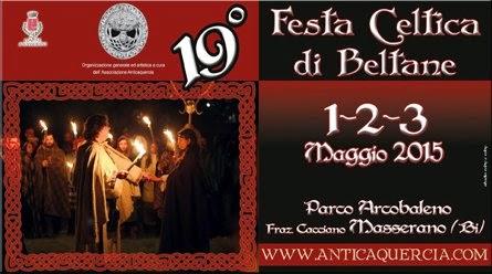 festa celtica di beltane a Masserano
