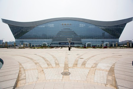 world's largest building china