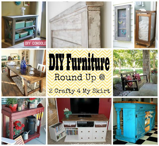 2 Crafty 4 My Skirt Round Up Diy Furniture