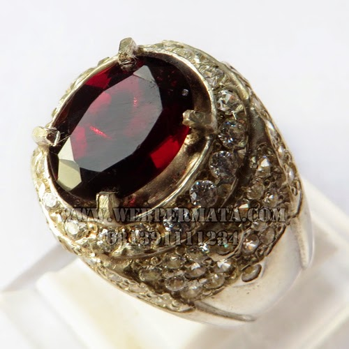 Batu Cincin Ruby Star