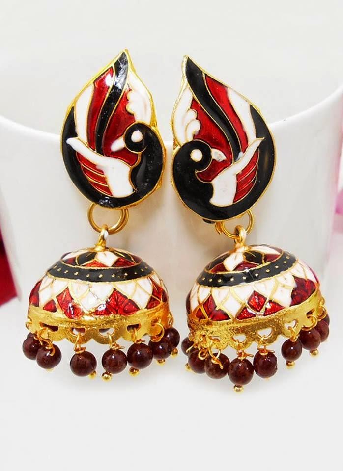 Jhumkay or Earrings