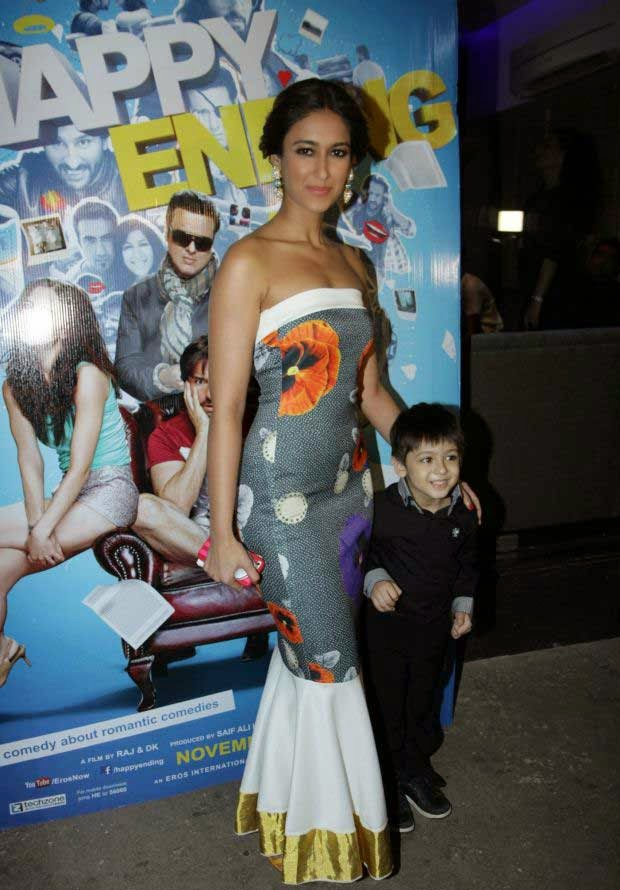 Ileana D'Cruz at Happy Ending screening