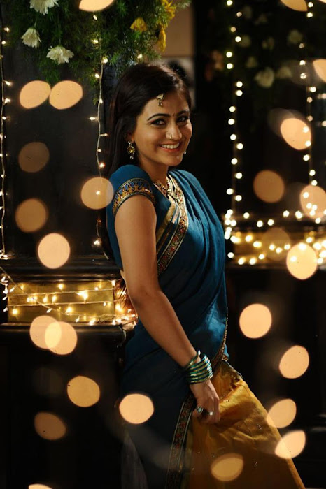 aksha in saree new photo gallery