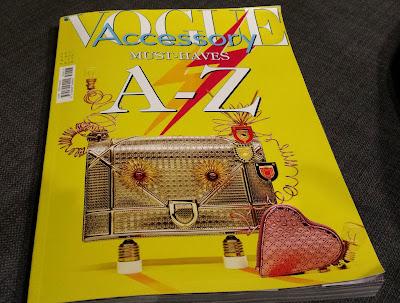 Vogue Accessory Must Haves - najmodniejsze akcesoria na jesień 2015 - co wybrałam?