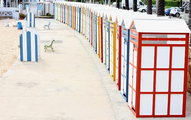 Casetes de la platja de Sant Pol (S'agaró)