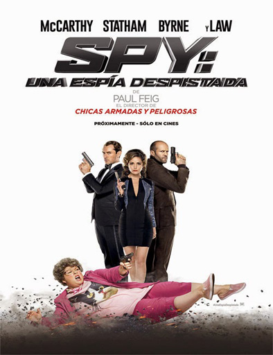 Spy: Una espía despistada (2015)