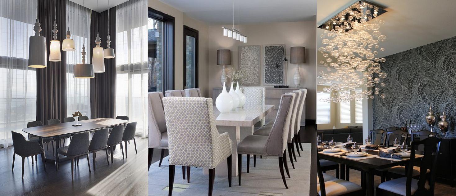 Como elegir la lampara del comedor casas ideas - Lamparas para comedores modernos ...