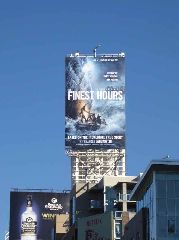 Finest Hours billboard