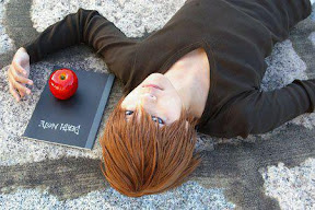 DEATH NOTE Cosplay Kira handsome