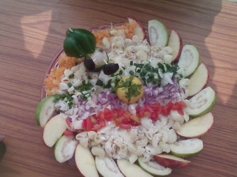 Rukmani birla modern high school salad decoration competition for Decoration salade