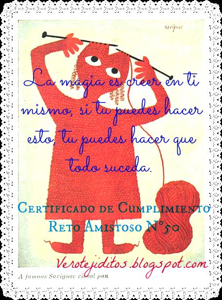 Certificado RA Nº 50