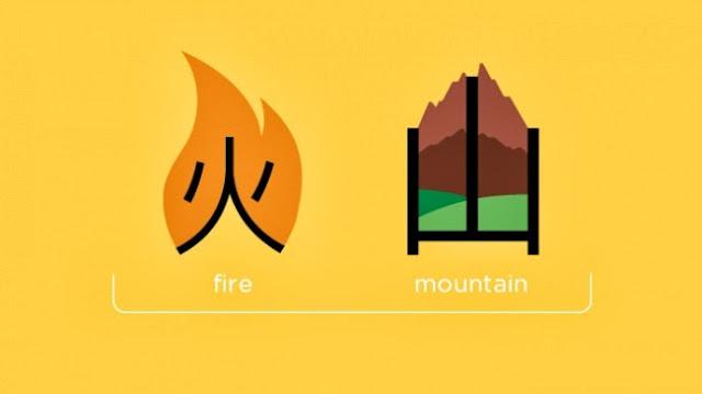 Огонь + гора = вулкан